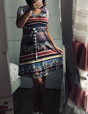 Hochwertige Kleid von COMMA gr.38/M, Stretch bunt