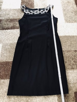 Connected Cocktail Dress black-silver-colored