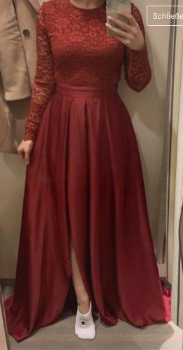 Hochwertige Kleid von Swing /Spitzen /Chiffon /Lang /Schlitz 38/40, mit Ärmel