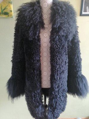 Pelt Coat black mohair