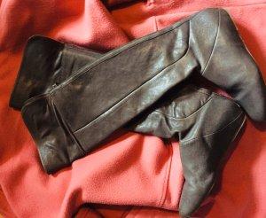 BCBG Maxazria Stivale cuissard grigio scuro