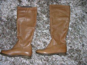 Hochwertige Leder Stiefel von COX in Braun Gr. 37 LP: 140€