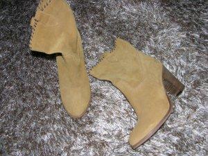 Hochwertige Leder Stiefeletten von Progetto Gr. 37 Neu