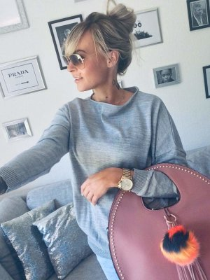 ⋙•-•-•-•➤Hochwertige, neue einzigartige Damen Handtasche Neu m. Etikett ◉