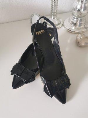 Festa Slingback pumps zwart