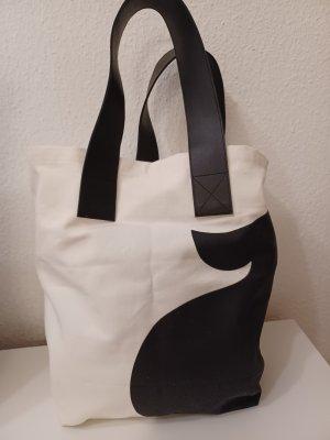 someday Shopper wit-zwart Katoen