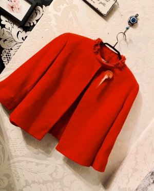 Valentino Roma Veste oversize rouge-rouge foncé
