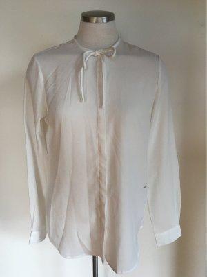 Hochwertige weiße Bluse
