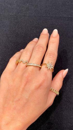Pierścionek dla par złoto