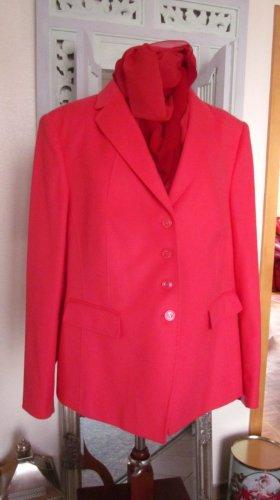 Basler Klassischer Blazer bright red-red mixture fibre