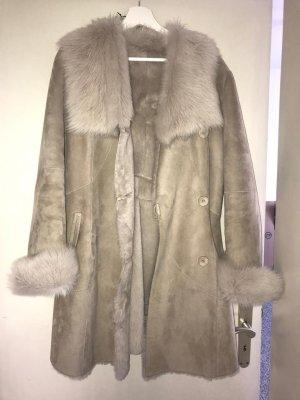 ARMA Winter Coat nude-cream