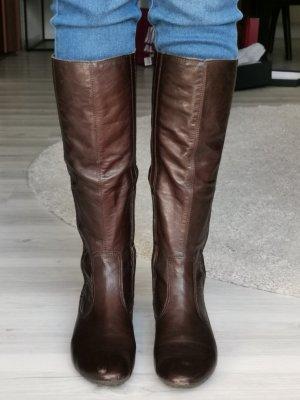 Hochwertiger Leder-Stiefel