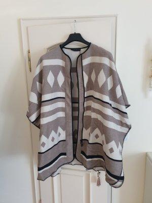 Hochwertiger Poncho von Zara, Gr. M