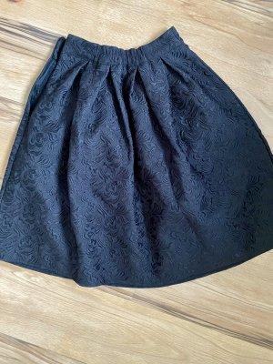 Allegra K. Flared Skirt black
