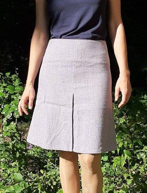 Atelier Festkleid Falda de lino púrpura