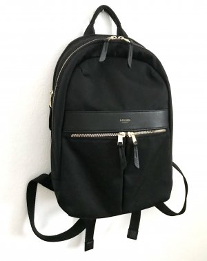 KNOMO London Sac à dos pour ordinateur portable noir nylon