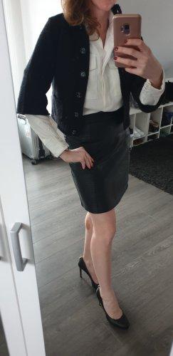 another woman Bolero lavorato a maglia nero