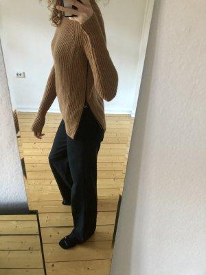 COS Pull tricoté chameau-marron clair laine