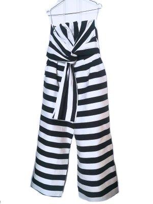 Asos Tall Kombinezon biały-czarny
