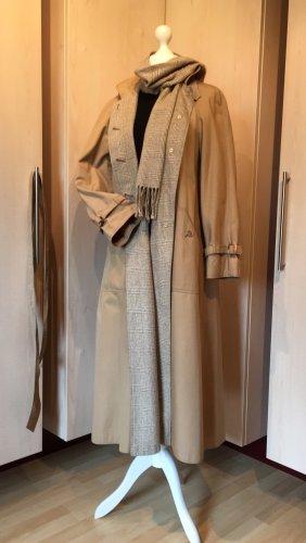 Vintage Cappotto lungo fino a terra multicolore Cotone