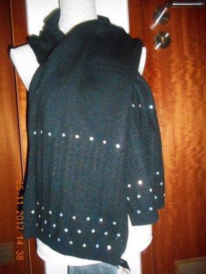 Fabiani Wollen sjaal zwart