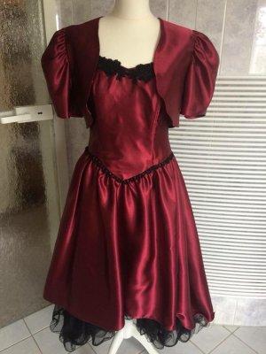 Hochwertiges Abendkleid mit Bolero in Gr. 38 von SINAC Kurschat *neuwertig*