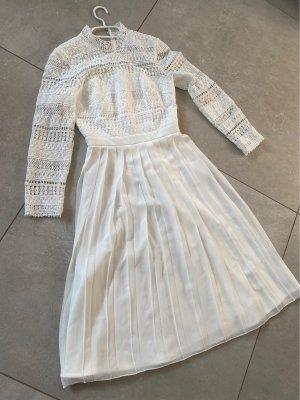 Chi Chi London Lace Dress white