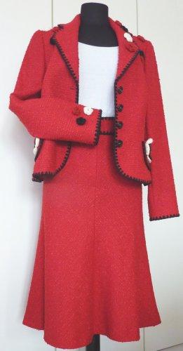 Hochwertiges Escada Kostüm, Gr. 40, rot, gepflegter Top Zustand