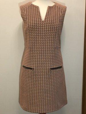 Juicy Couture Robe fourreau vieux rose-gris brun