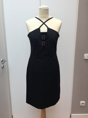 Hochwertiges schwarzes Kleid