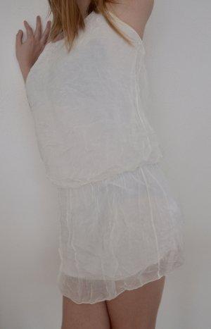 Sukienka z rękawem balonowym Wielokolorowy