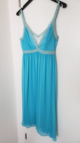 Apart Chiffon Dress light blue