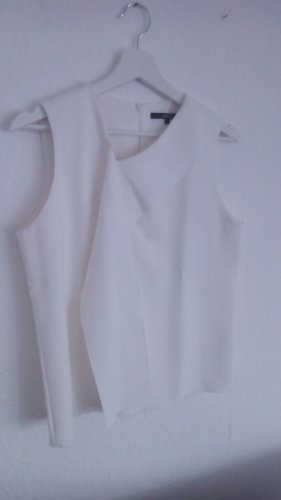 someday A Line Top natural white viscose