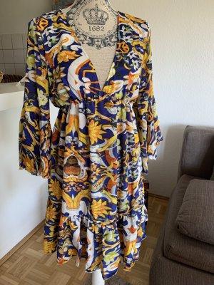 Antica Sartoria Tunic Dress multicolored viscose