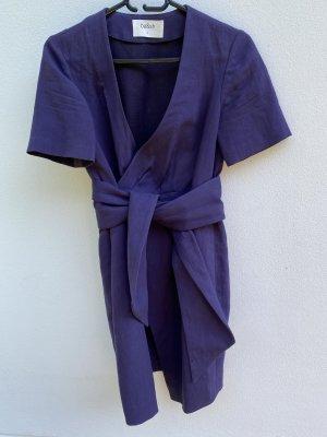 Ba&sh Kopertowa sukienka brązowo-fioletowy