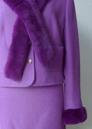 Escada Tailleur violet-lilas laine