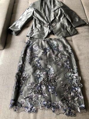 Tarik Ediz Sukienka z gorsetem Wielokolorowy