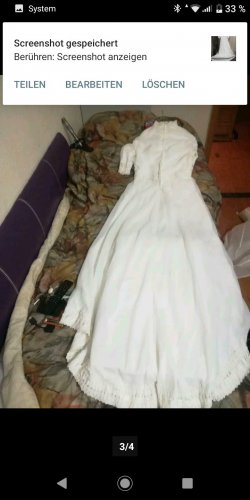 AGL Wedding Dress natural white