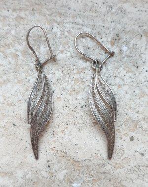 Srebrne kolczyki srebrny