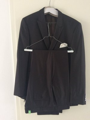 Tailcoat Suit bronze-colored mixture fibre