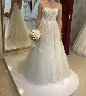 / Robe de mariée blanc