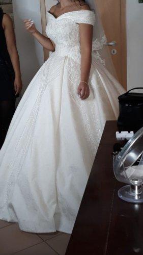 Wedding Dress cream-oatmeal