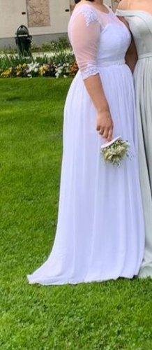Monalisa Wedding Dress white