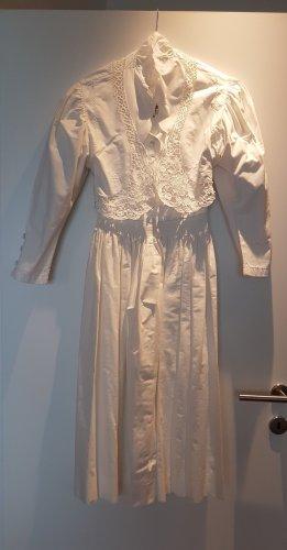 Hochzeitskleid aus 100 % Baumwolle - Grösse 36