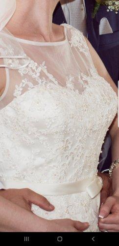 Hochzeitskleid Brautkleid Gr. 8 S 36 von Sencerity in ivory
