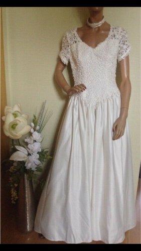 Hochzeitskleid Brautkleid , ivory , mit spitze und Perlen