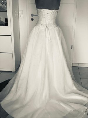 Hochzeitskleid Brautkleid mit Perlen und Pailetten