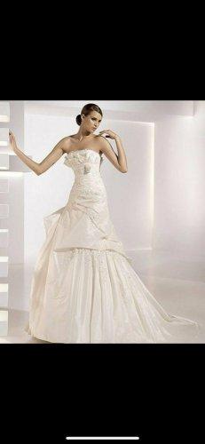 Pronovias Wedding Dress cream-natural white silk