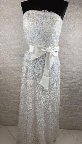 keine Suknia ślubna w kolorze białej wełny
