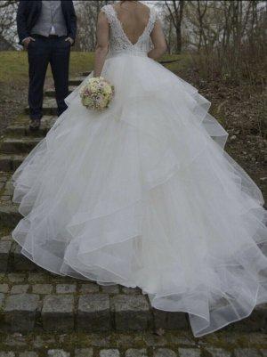So Lady Wedding Dress white